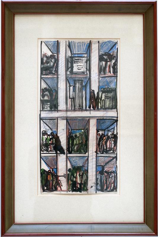 Mostra di Sironi al Creberg 1911