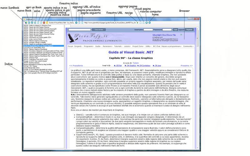 Un Browser per impaginare pagine web X110