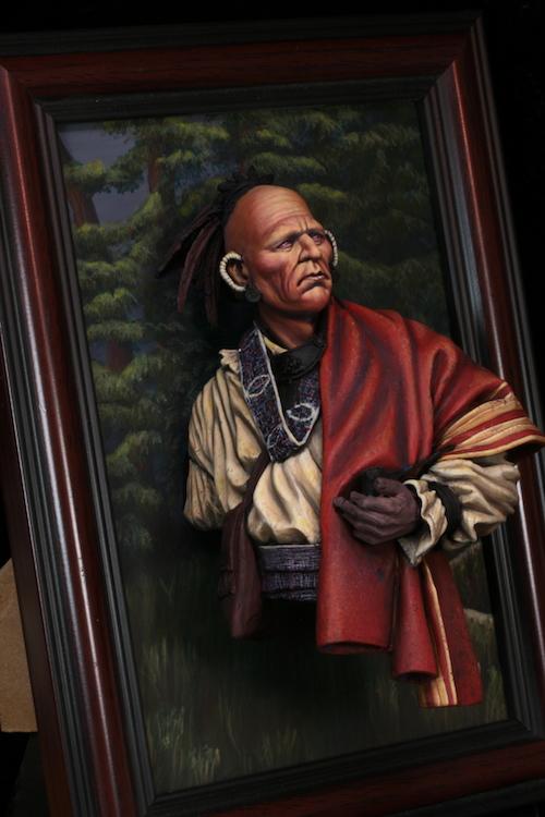 Buste de Cherokee Terminé Etape135