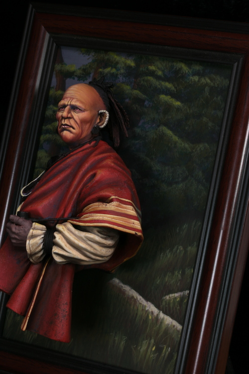 Buste de Cherokee Terminé Etape136
