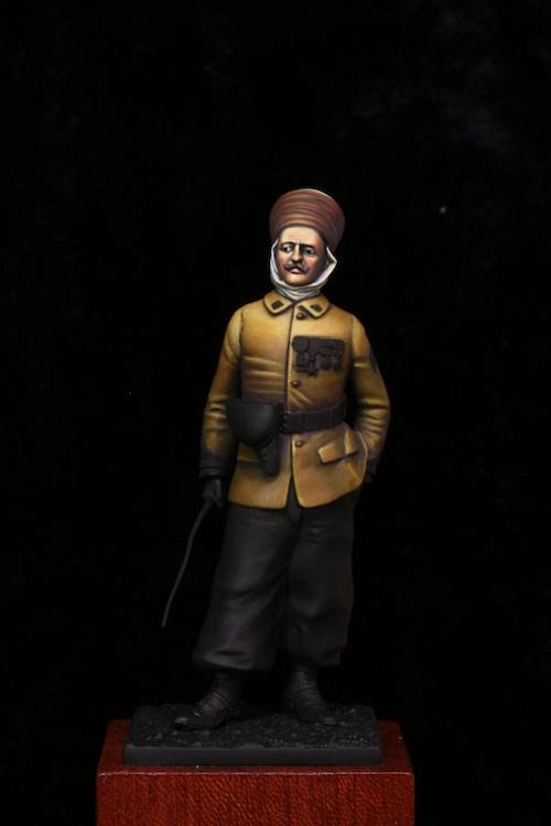 Maréchal des Logis des Spahis Algériens 1918 Etape710