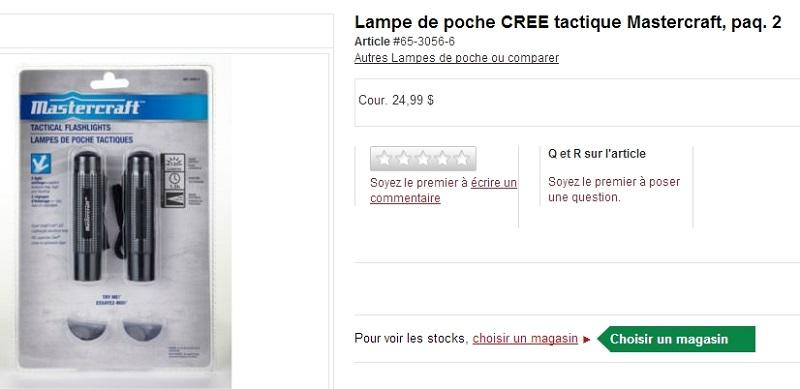"""Lampe à LED """"tactique"""" bricolage pour montage sur arme pas cher... Captur15"""