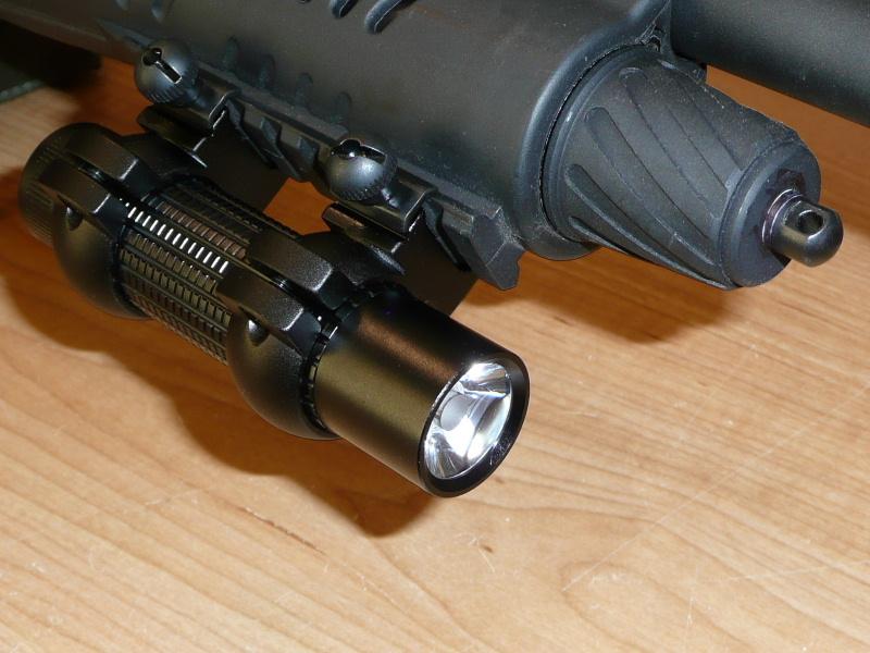 """Lampe à LED """"tactique"""" bricolage pour montage sur arme pas cher... Lampe-11"""