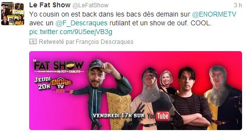 [Vidéos] Les Frenchnerdiens chez McFly & Carlito Fatsho11