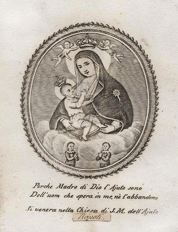 S. Carlos Borromeo / Virgen de la Leche S. XVIII (R.M. SXVIII-O223) Aaaaa_10