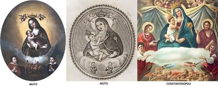 S. Carlos Borromeo / Virgen de la Leche S. XVIII (R.M. SXVIII-O223) Aiuto-10