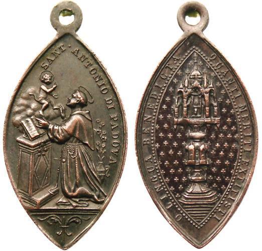 San Juan Nepomuceno / Reliquia Sagrada Lengua, S. XVIII Antoni10