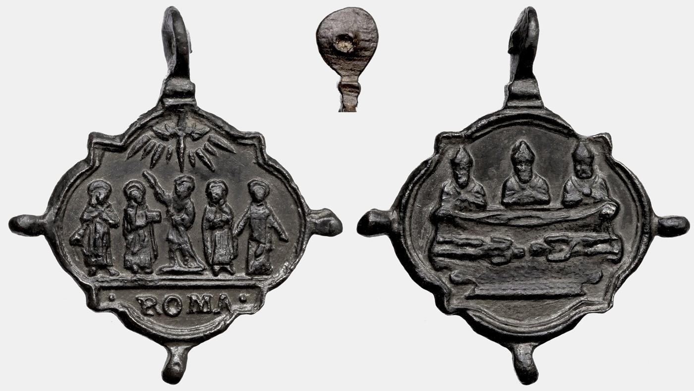 Medalla Santos de 1622 / Santo Sudario de Turín  S.XVII (R.M SXVII-Ot 59) B135_d10