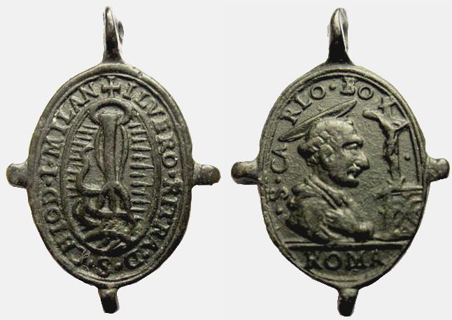 Medalla San Carlos Borromeo / Santo Clavo (R.M. SXVII-O262) Clavo_10