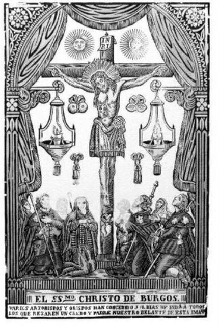 El Christo de Burgos y San Huberto de Lieja Corazo10