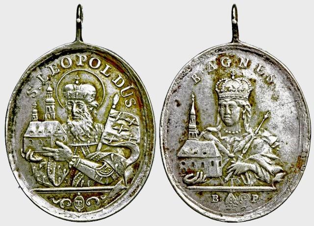 leopoldo - Medalla San Leopoldo y Beata Agnes  (R.M. SXVIII-O208-209-210) E007_d10