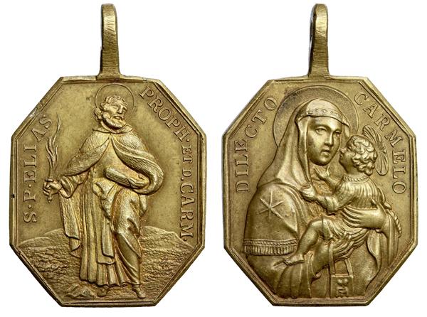Profeta Elías / Virgen del Carmen S.XVIII (R.M. SXVIII-P19) E026_d11