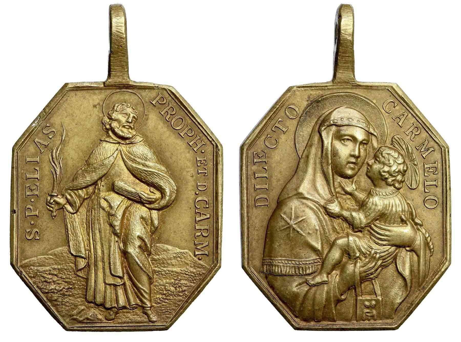 Profeta Elías / Virgen del Carmen S.XVIII (R.M. SXVIII-P19) E026_d12