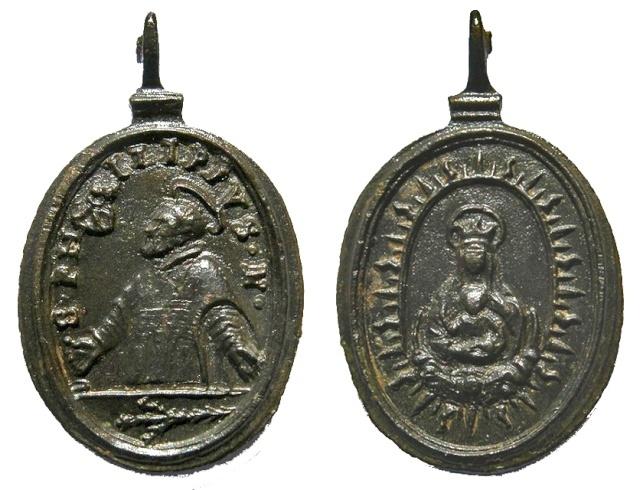 San Antonio Abad / Santa María in Vallicella  - MR567 ( R.M. SXVII-O453) (M) Felipe10