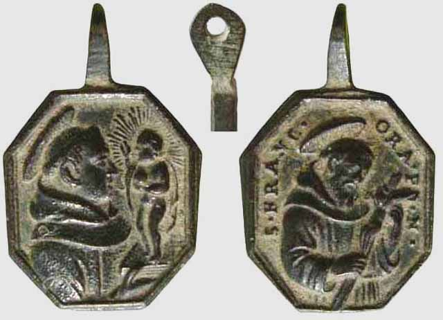 asis - S. Antonio de Padua / San Francisco de Asis - MR(053) (R.M. SXVIII-P61) Franci13