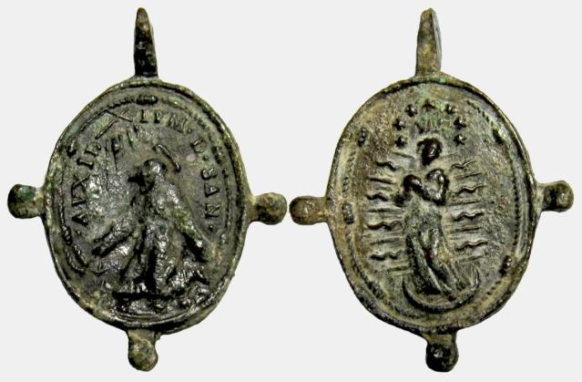 asis - Francisco de Asís / Inmaculada - Pezuelada S. XVII (R.M. Pe Francisco de Asis 15) Franci20