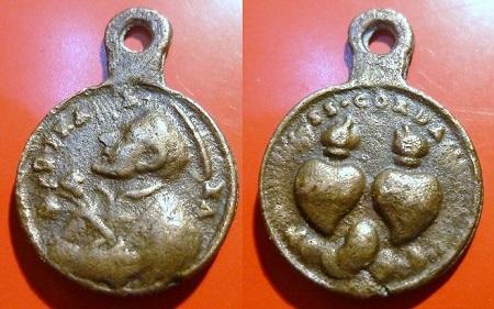 asis - Algunas medallas sobre San Francisco de Asís Franci33