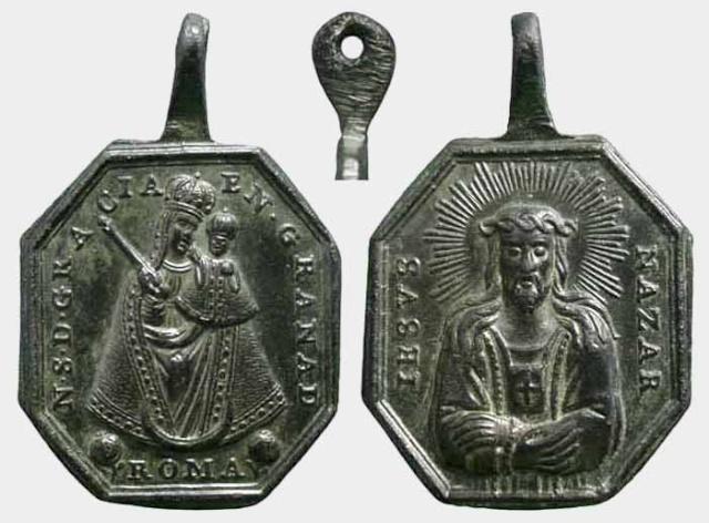 Virgen de Gracia de Granada / Jesús Nazareno -Cristo del Rescate - MR(352)(R.M. SXVIII-P63)(MAM)  Gracia10