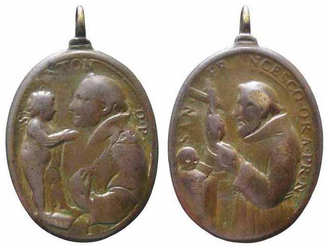 Recopilacion medallas  San Francisco de Asis Insvla15