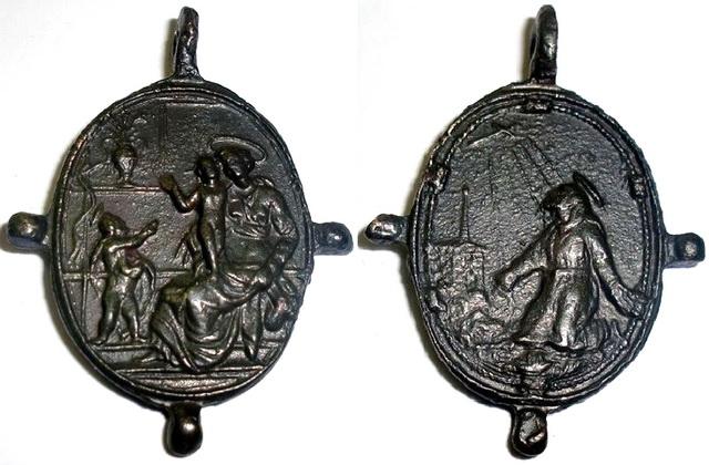 Recopilacion medallas  San Francisco de Asis Italic10
