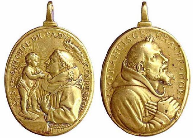 Recopilacion medallas  San Francisco de Asis Julius12