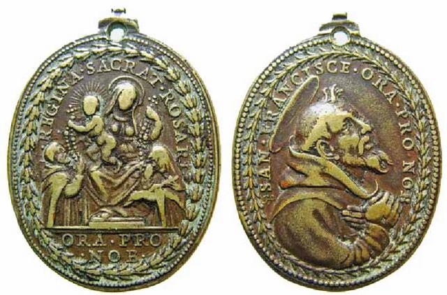 Recopilacion medallas  San Francisco de Asis Julius13