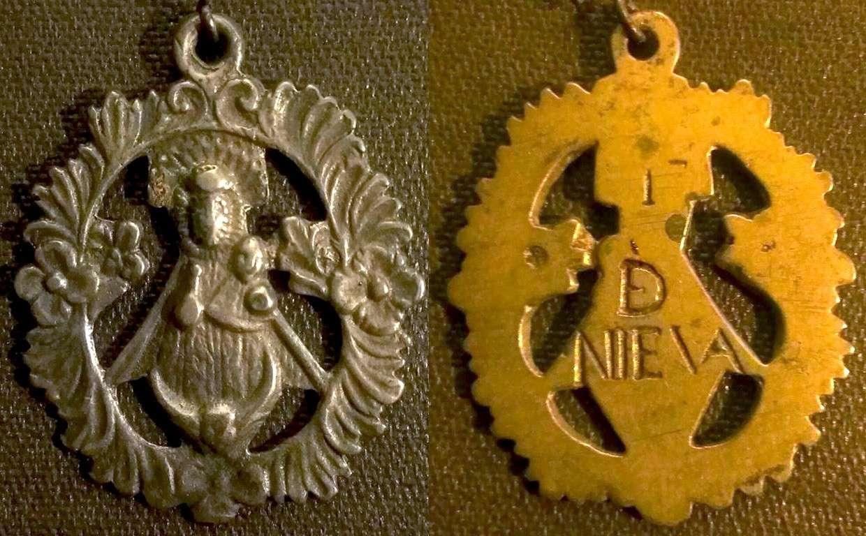 Medalla calada - Virgen de Nieva (R.M. PFV-Nieva 6) Nieva-10
