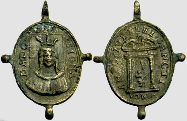 Medalla Madonna de Provenzano / Puerta Santa-Jubileo (R.M. Provenzano 2) Proven11