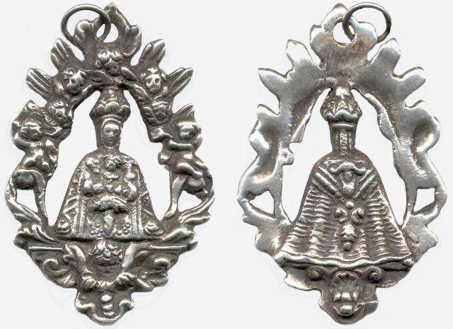 Medalla calada N.S. del Sagrario de Toledo S. XVII-XVIII (R.M. PFV-Sagrario 3a) Sagrar11