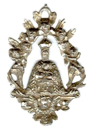 Medalla calada N.S. del Sagrario de Toledo S. XVII-XVIII (R.M. PFV-Sagrario 3a) Sagrar12