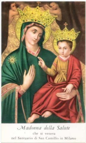 S. Ambrosio de Milán / Virgen de la Salud de Milán (R.M. Pe Ambrosio 1) Salute10