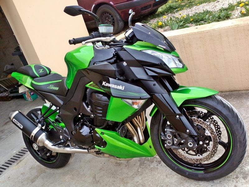 [VENDU] z1000 25/11/2011 noir et vert super équipé échange possible 8500€  Img18210