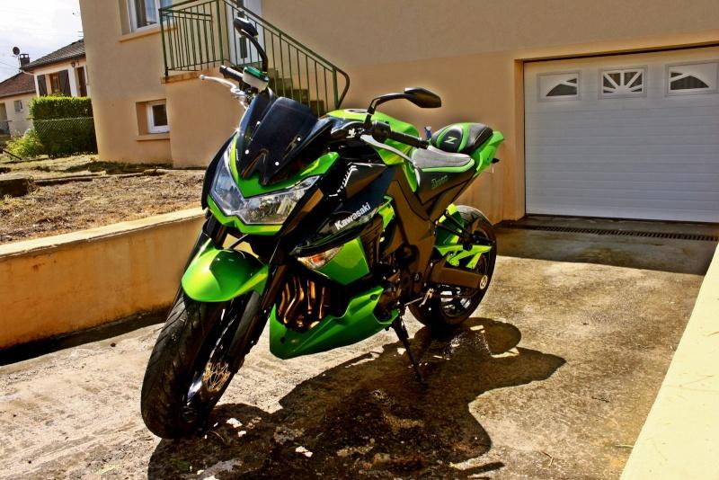 [VENDU] z1000 25/11/2011 noir et vert super équipé échange possible 8500€  Img_7914