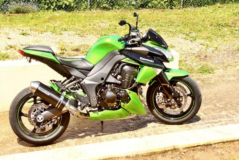 [VENDU] z1000 25/11/2011 noir et vert super équipé échange possible 8500€  Img_7916