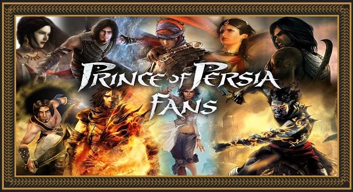 Font de Prince of Perisa Banner10