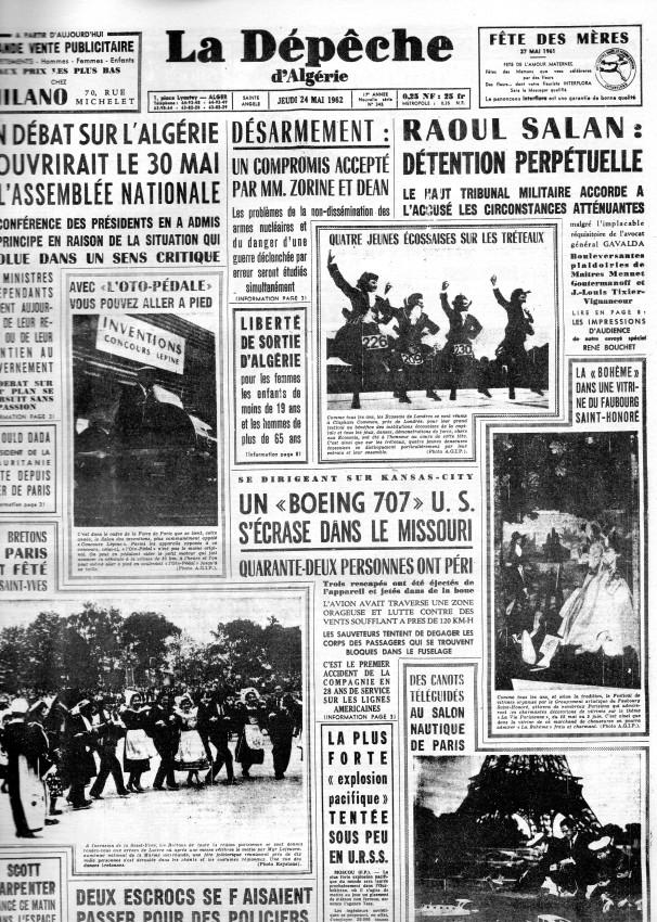 ALGERIE PRESSE MAI 1962 156