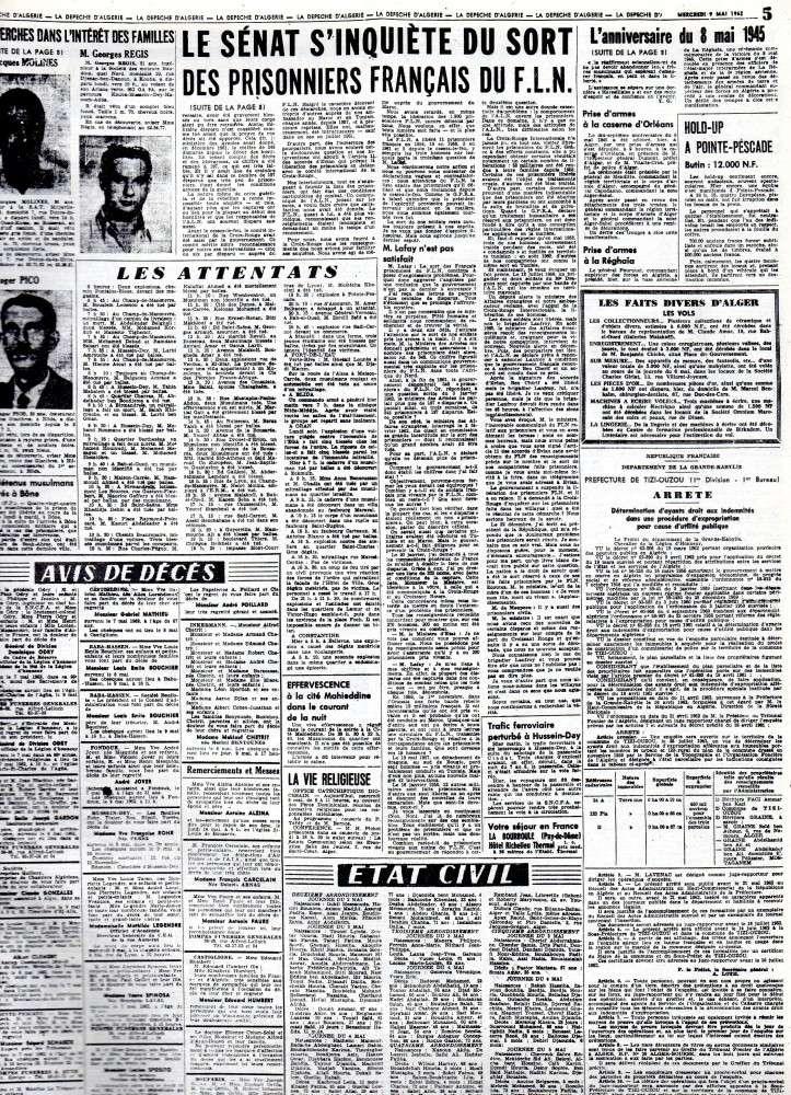 ALGERIE PRESSE MAI 1962 241
