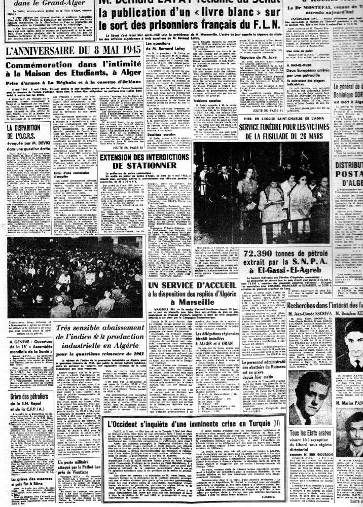 ALGERIE PRESSE MAI 1962 338