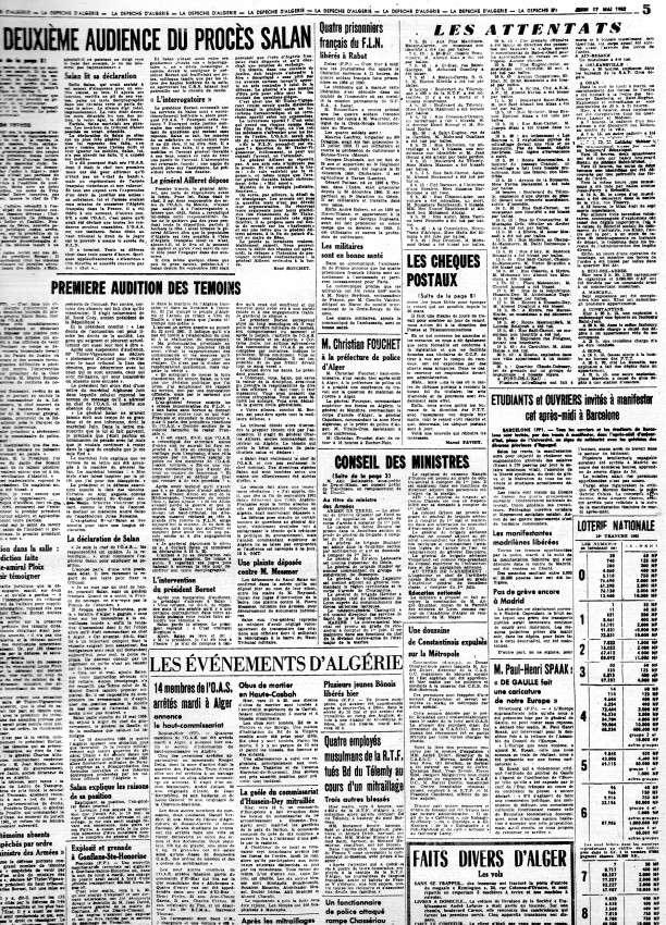 ALGERIE PRESSE MAI 1962 340