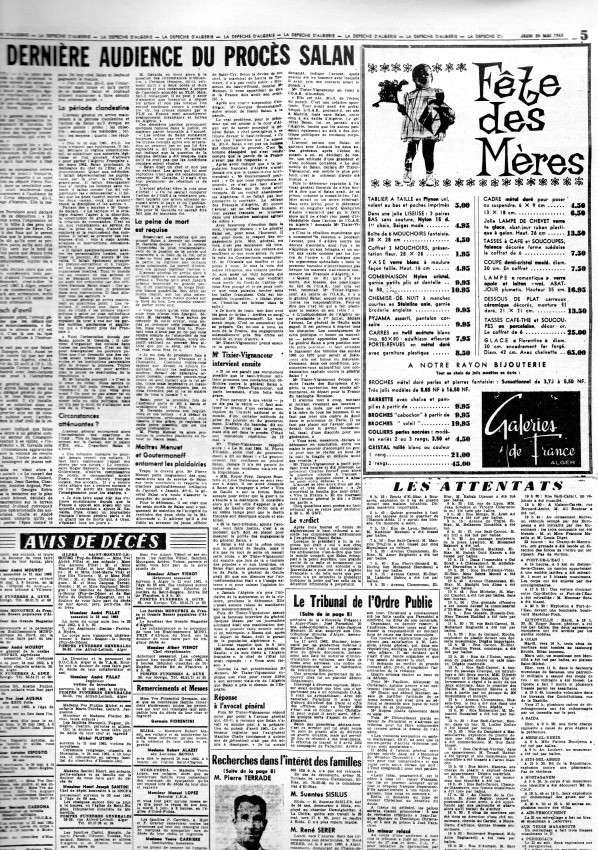 ALGERIE PRESSE MAI 1962 343