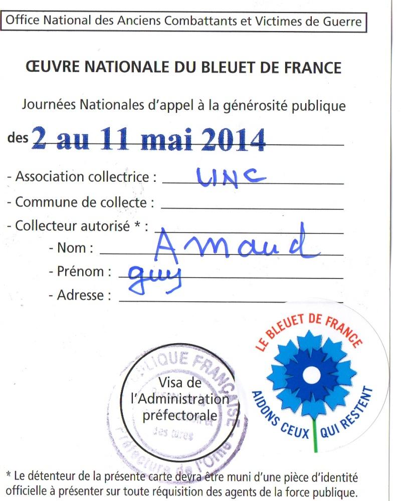 8 MAI 1945, LE Bleuet de France Img04310