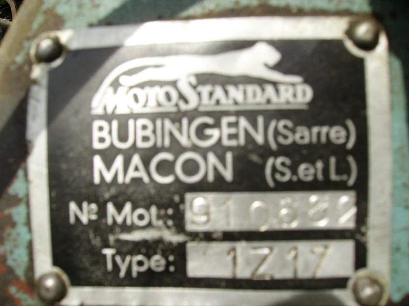 Rupteur et condensateur pour motofaucheuse Motostandards (1954) Bubige10
