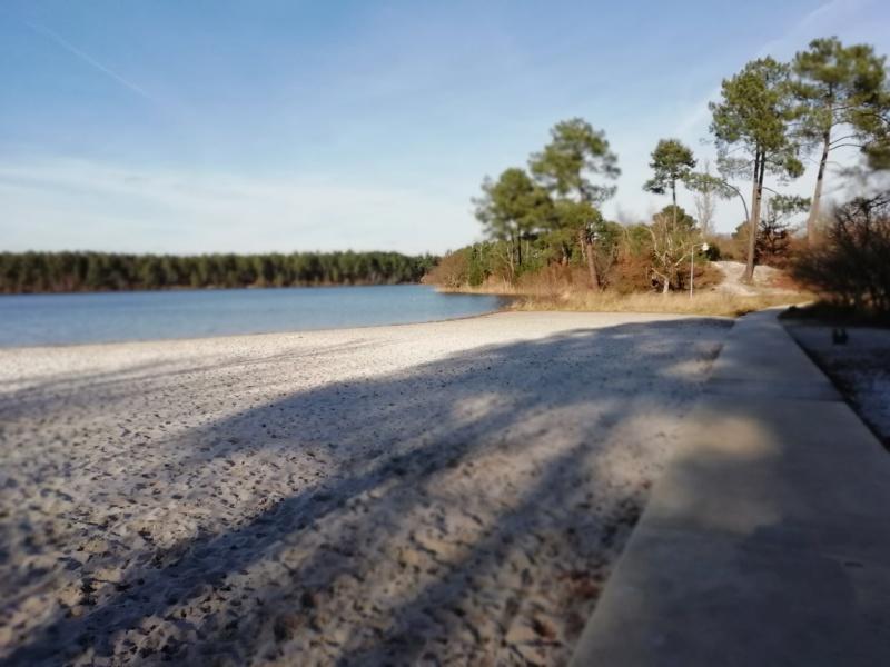 Le Lac D'Hostens avec le soleil Hosten18