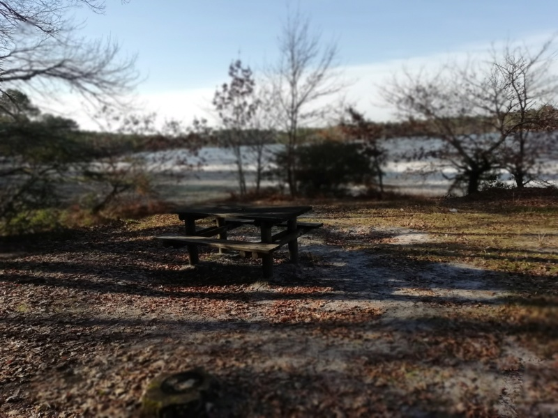 Le Lac D'Hostens avec le soleil Hosten19