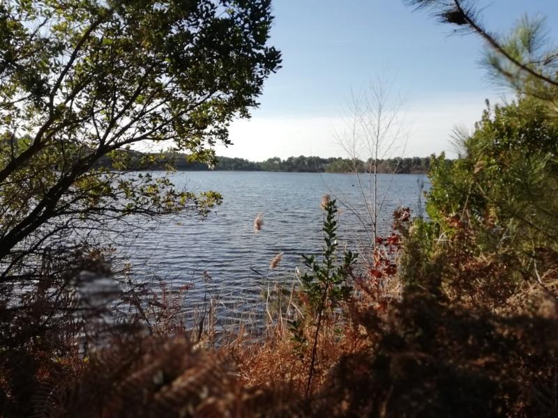 Le Lac D'Hostens avec le soleil Hosten22