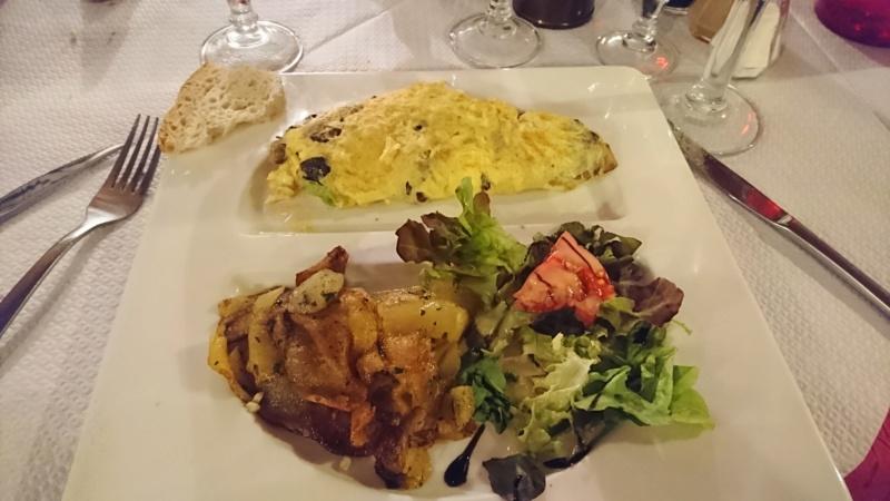 La fameuse omelette aux cèpes Sarladaise Omelet23