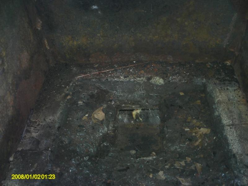 The Stone Mountain firepan and burner.  01110