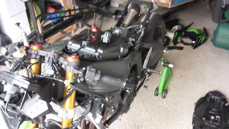 ZX6R 636 2013 en préparation piste :) 20140410