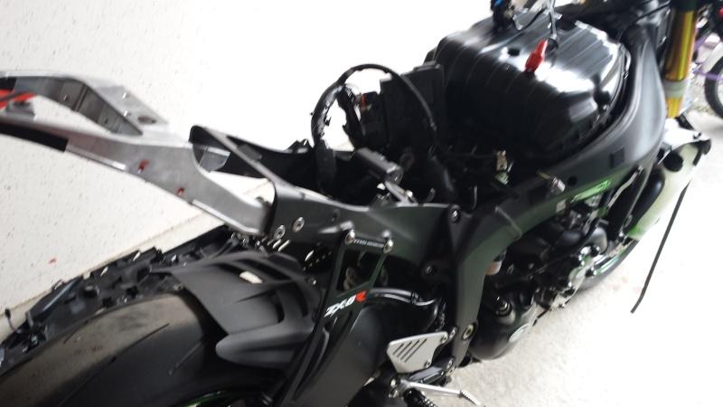 ZX6R 636 2013 en préparation piste :) 20140411