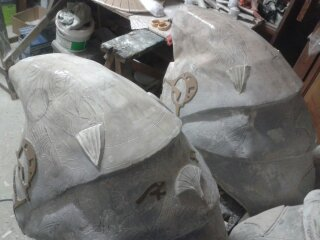 [TERMINE] stargate: bustes Anubis,Horus,Bastet,Thot,Khnoum 13908511